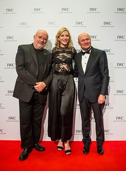 IWC Peter Lindbergh, Cate Blanchett, Georges Kern
