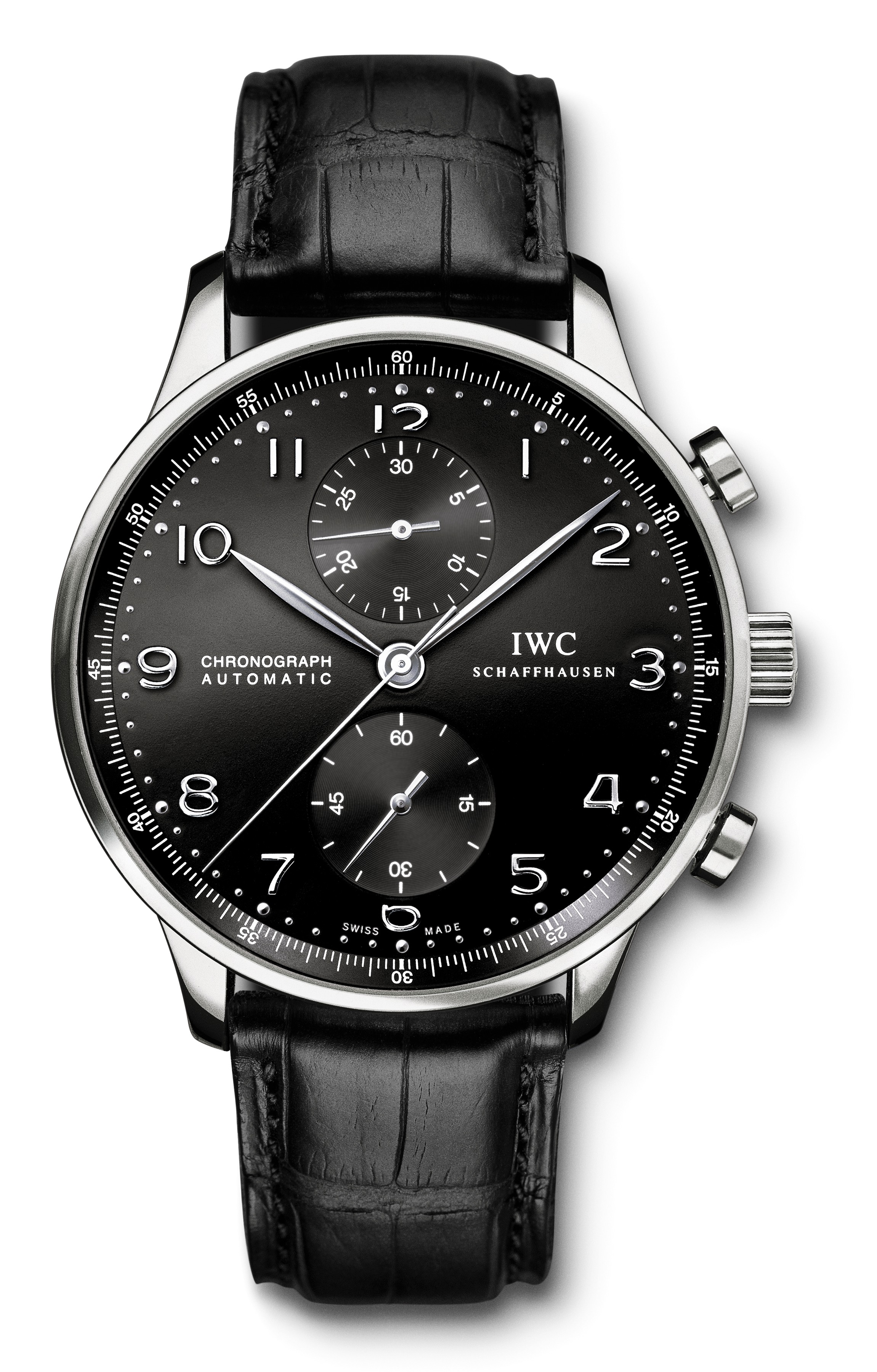 iwc portugieser chronograph iw3714. Black Bedroom Furniture Sets. Home Design Ideas
