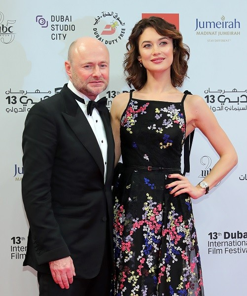 DIFF-2016-IWC Schaffhausen CEO Georges Kern and Olga Kurylenko