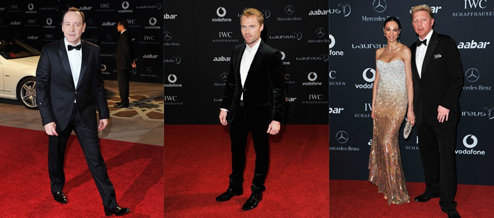 Laureus World Sports Award Red Carpet