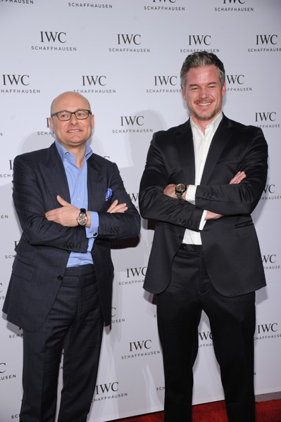 Georges Kern and Eric Dane