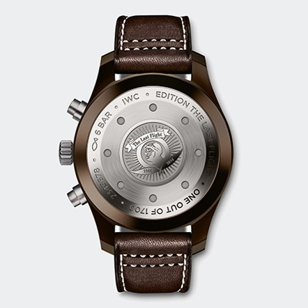 IW388004 Watch Back