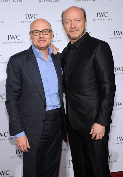 Georges Kern and Paul Haggis