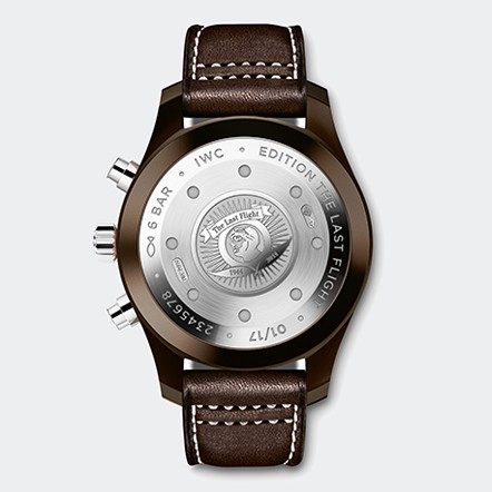 IW388005 Watch Back