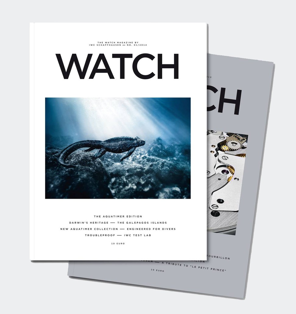 IWC Watch Interntional cover 1/2014