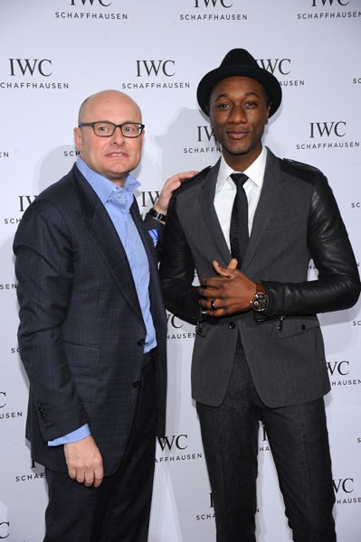 Georges Kern and Aloe Blacc