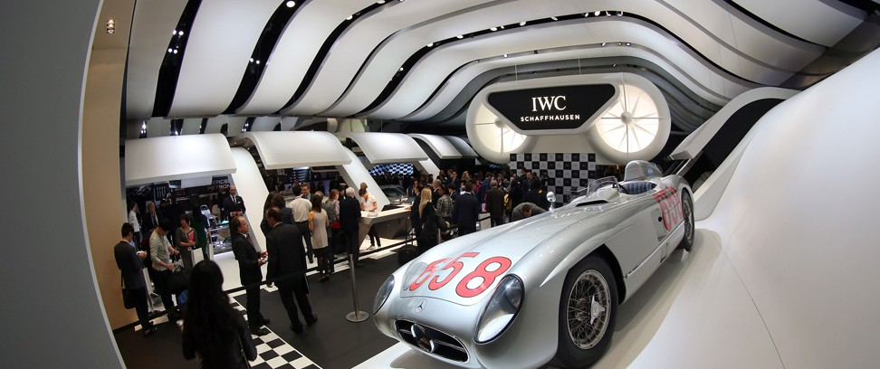 IWC's SIHH Booth 2013