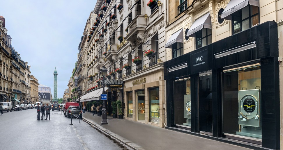News and events new iwc boutique opens in the heart of - Magasin de scrapbooking paris ...