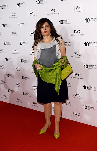 IWC Filmmakers Award nominee Faisa Ambah attends the IWC Schaffhausen