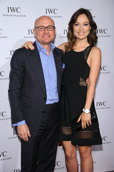 Georges Kern and Olivia Wilde