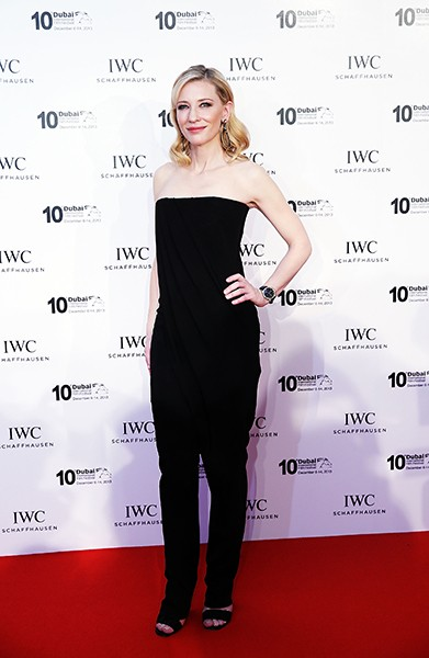 IWC Friend of the Brand and Head of the Jury Cate Blanchett