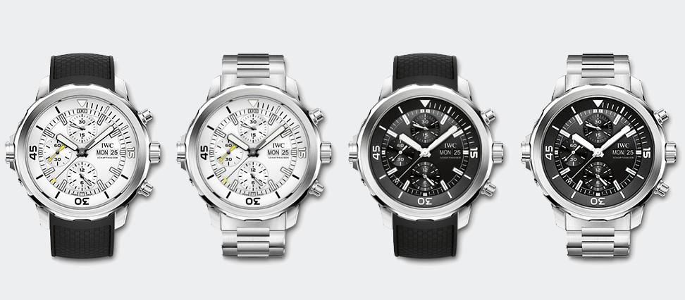 Aquatimer Chronograph IW376801, IW376802, IW376803 and IW376804